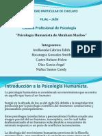 Psicología Humanista de A. Maslow