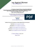 METHODOLOGYViolence Against Women 2011 Testa 236 50