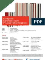 LAS SLS Event e Invitation Card