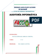 Auditoria Base Datos