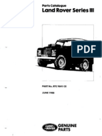 LR Series III Parts Catalogue