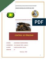 control de perdidas seguridad y salud ocupacional en mineria