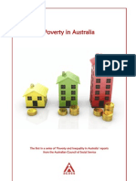 ACOSS Poverty Report