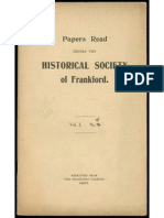 FHS Papers Read 21-May-1907