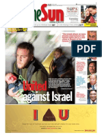 thesun 2009-01-13 page01 united against israel