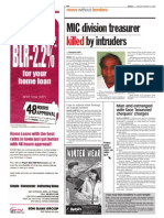 thesun 2009-01-13 page04 mic division treasurer killed by intruders