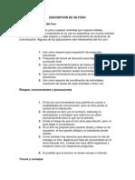Conclusiones Del Foro