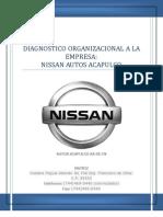 Diagnostico Organizacional Nissan