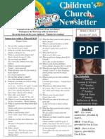 Newsletter 10-14-12