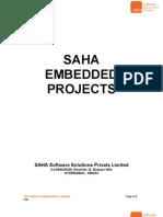 Saha Embedded Projects