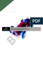 I BTech Physics Lab Manual