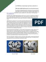 ReVox tape project