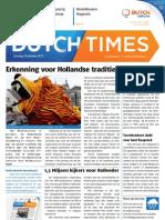 Dutch Times 20121014