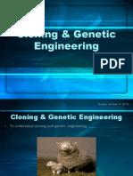 Cloning & Genetic Engineering