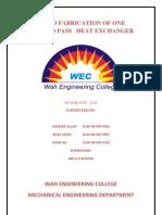 heat exchanger project final REPORT