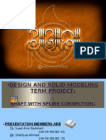 Syed Anis Badshah(Uw-09-Me-001) Project Presentation