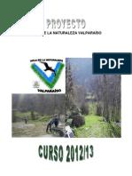 Proyecto Aula Naturaleza Valparaíso 12-13