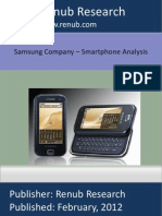 86433929 Samsung Company Smart Phone Analysis