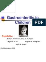 Gastroenteritis in 13yo and Less