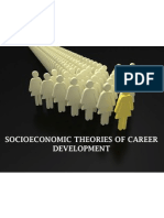 Socioeconomic Theories of Career Development