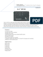 Amplifier UA 35TII