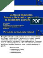 Concursul Republican Europa La Noi Acasa Repere Metodologice[1]