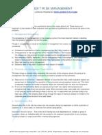 Company Analysis - Subjective Parameters
