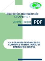2012 2013 CH1 Commerce International Emergence PED 2