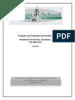 handbook for parents  guardians and agencies 7-2010