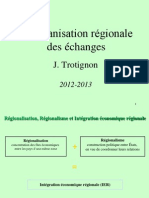 2012 2013 CH2 Integration Regionale 2