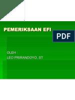 EFI - PEMERIKSAAN