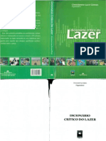 Livro - Dicionário crítico do Lazer - Christianne Luce Gomes