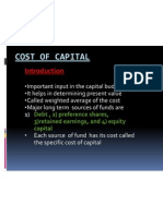 Cost of Capital-class