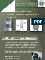 Fluidización Ingenieria