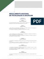 Regulamento Nacional de Fiscalização e Disciplina