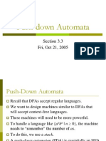 3.3 Push-Down Automata