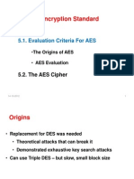 15812_5 Advanced Encryption Standards