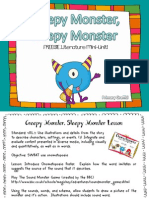 Creepy Monster Sleepy Monster