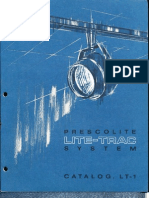 Prescolite Lite-Trac (Phase III) LT-1 1967