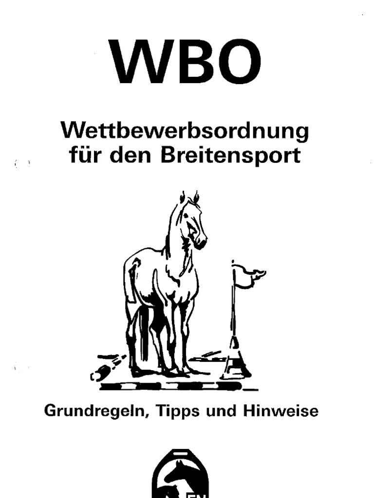 WBO der Deutschen Reiterlichen Vereinigung