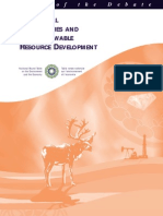 Aboriginal Communities and Non-renewable Resource Development