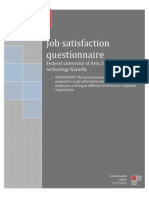 Job Satifaction Report.
