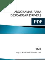 Programas Para Descargar Drivers