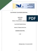 Electricidad y Electronica Industrial.- Motores Transformadores y Aplicaciones