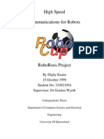 High Speed Communications for Robots