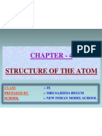 4 Structure Oftheatom