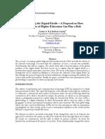 Nabil Rahman - ISD3E3 - Digital Divide