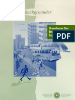 Greenhouse Gas Emissions from Urban Transportation