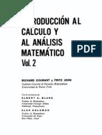 Courant R, John F - Introduccion Al Calculo y Al Analisis Matematico, Vol2