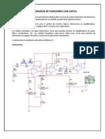Generador de Funciones Con Lm741